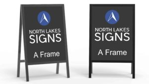 A frames signs - North Lakes Signs