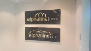 Acrylic Receptions - North Lakes Signs