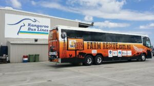 Vinyl Bus Wraps north Brisbane