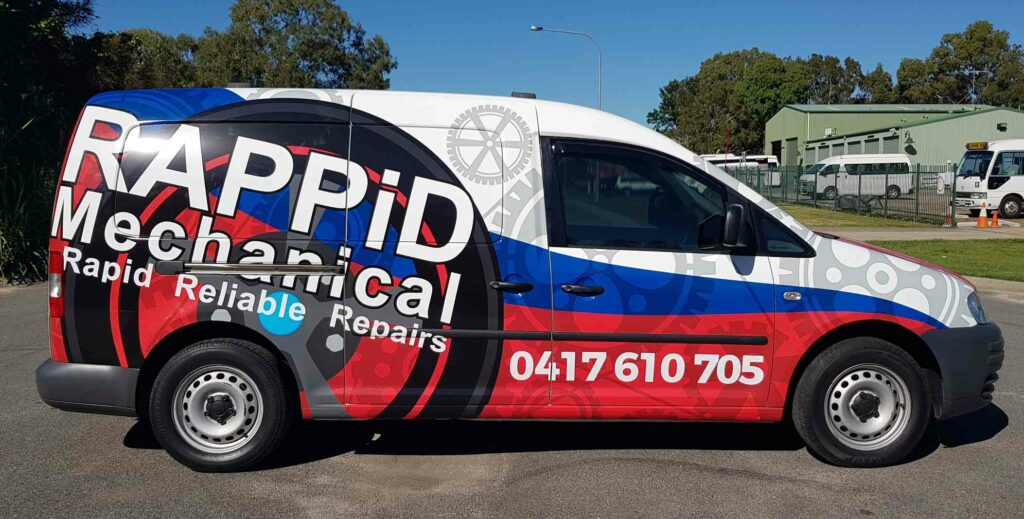 Full Wrap Car Signage Brisbane