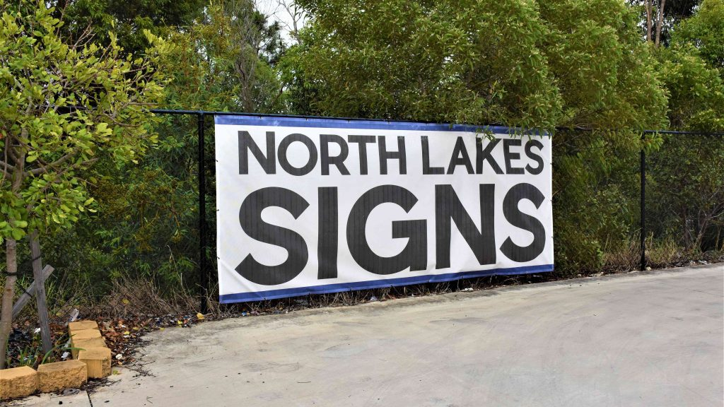 Mesh Banners North Lakes