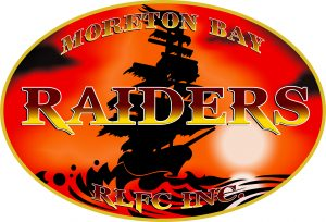 Decpetion Bay raiders Logo